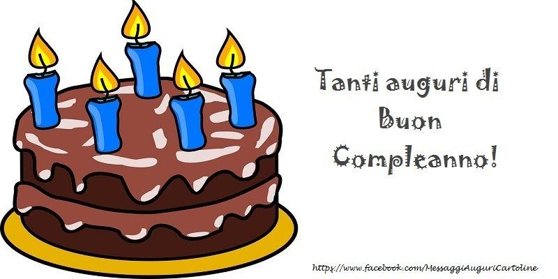 Compleanno tanti auguri di buon compleanno