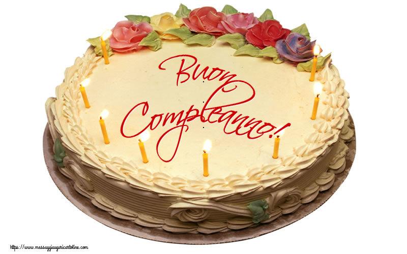 Cartoline di compleanno - Buon Compleanno! - messaggiauguricartoline.com