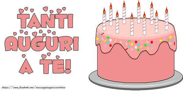 Compleanno Torta Tanti auguri a te!