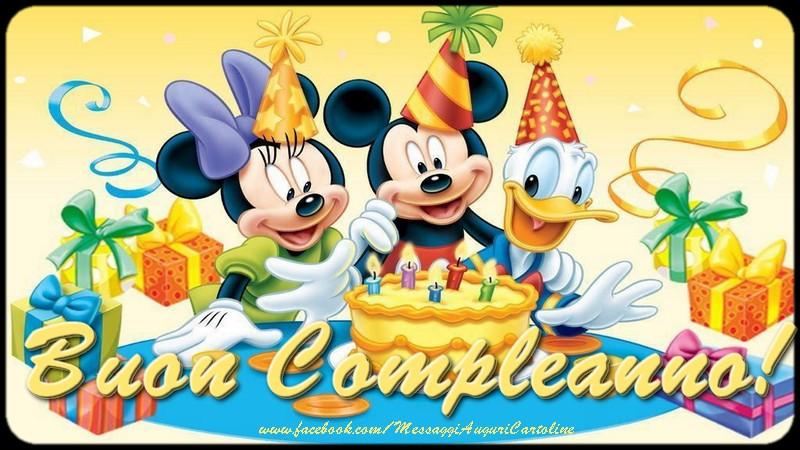 Compleanno Buon Compleanno!