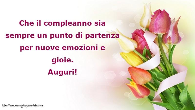 Cartoline di compleanno - Auguri! - messaggiauguricartoline.com