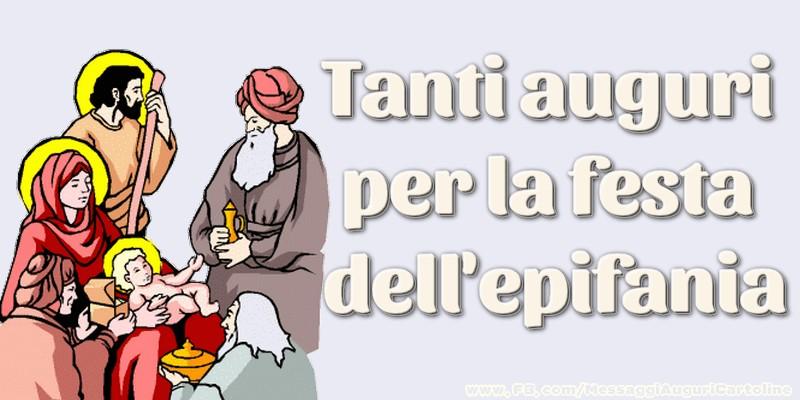 Cartoline di Befana - Tanti auguri per la festa dell'epifania
