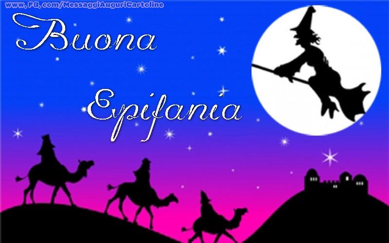 Cartoline di Befana - Buona Epifania