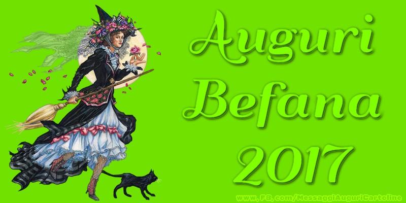 Cartoline di Befana - Auguri Befana 2016