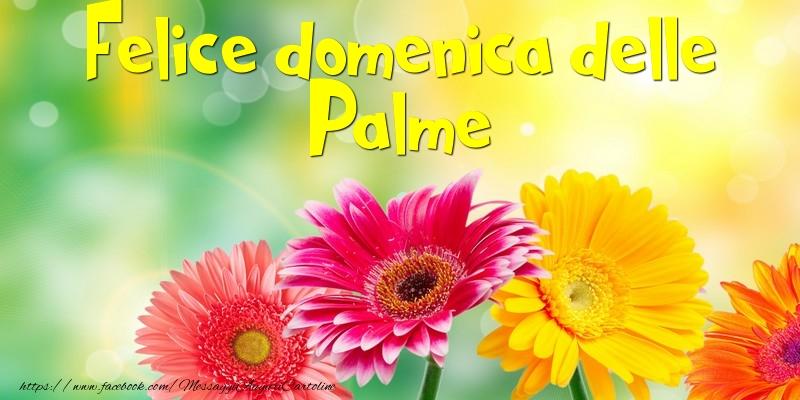 Cartoline Domenica delle Palme - Felice Domenica delle palme
