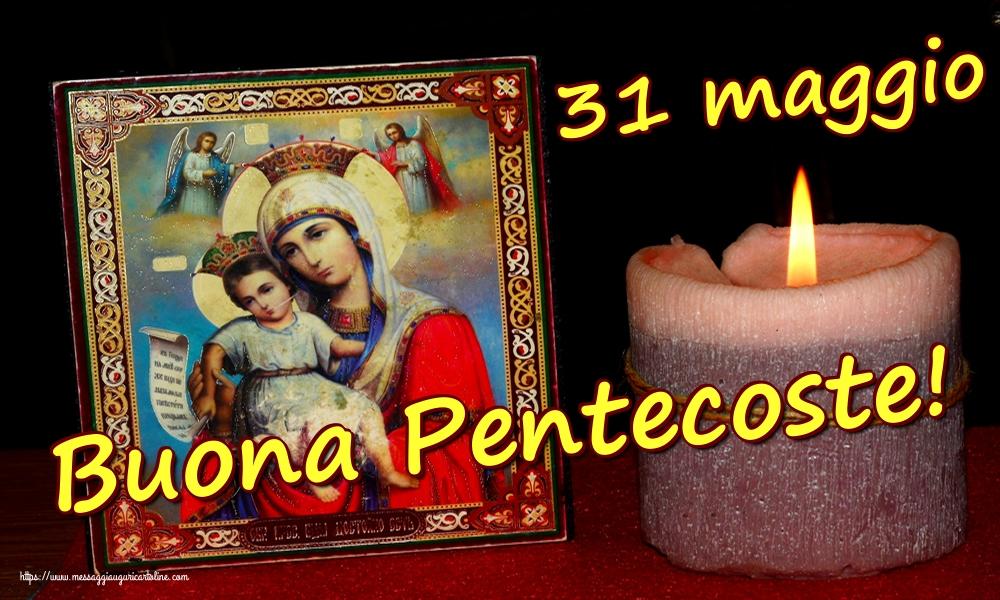Cartoline Domenica di Pentecoste - 31 maggio BuonaPentecoste!