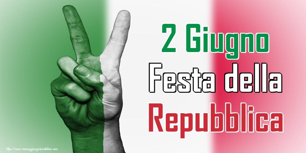 Cartoline per la Festa della Repubblica - 2 Giugno Festa della Repubblica