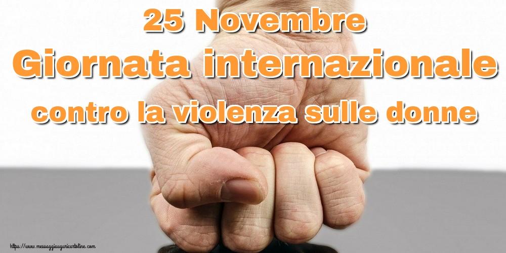 Cartoline per la Giornata contro la violenza sulle donne - 25 Novembre Giornata internazionale contro la violenza sulle donne