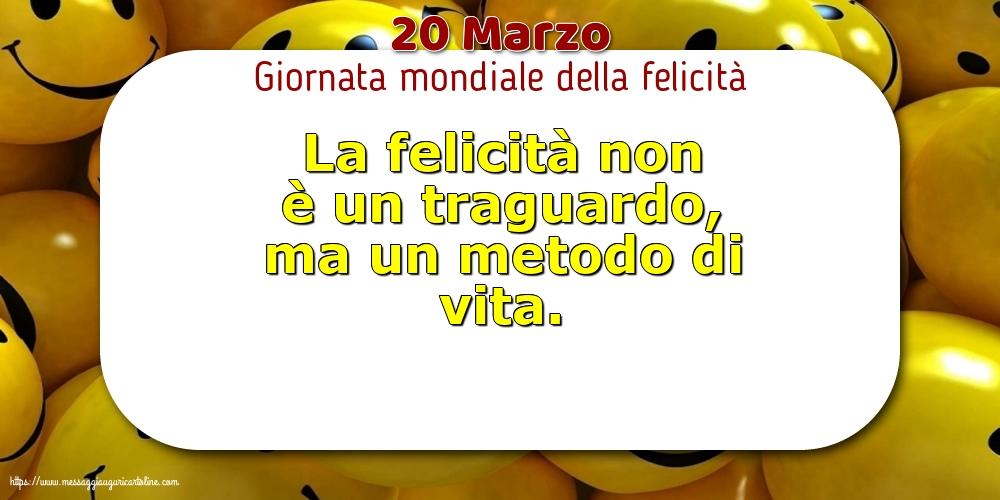 Cartoline per la Giornata Internazionale della Felicità - 20 Marzo - Giornata mondiale della felicità