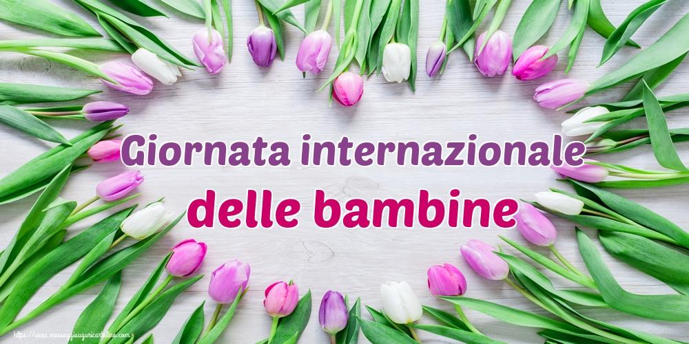 Cartoline per la Giornata delle bambine - Giornata internazionale delle bambine