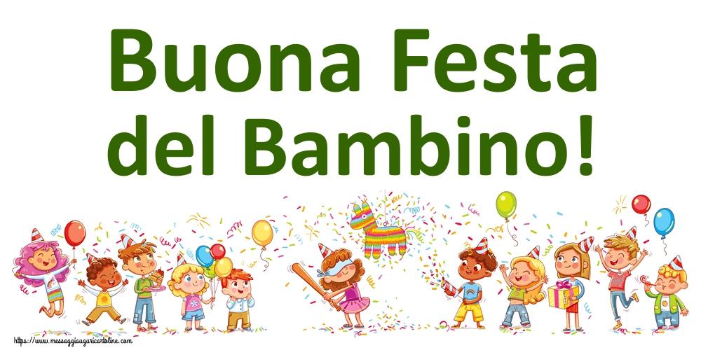 Cartoline per la Giornata Internazionale del Bambino - Buona Festa del Bambino!