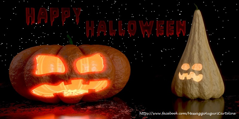 Cartoline di Halloween - Happy Halloween