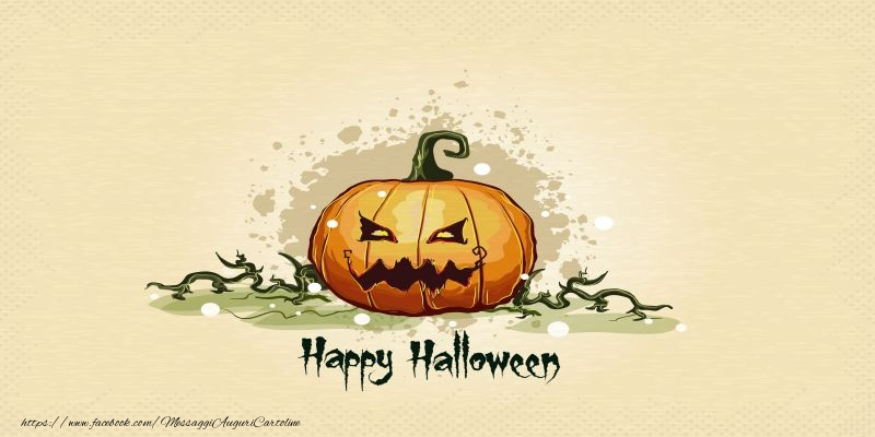 Cartoline di Halloween - Buon Halloween!  - Happy Halloween!