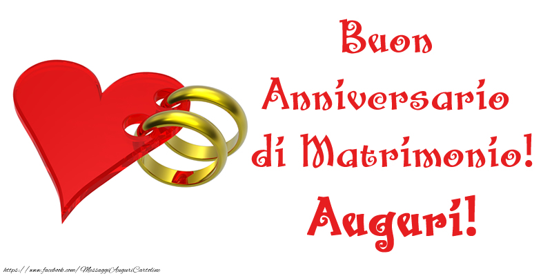 Estremamente di matrimonio - Buon Anniversario di Matrimonio! Auguri  BW95