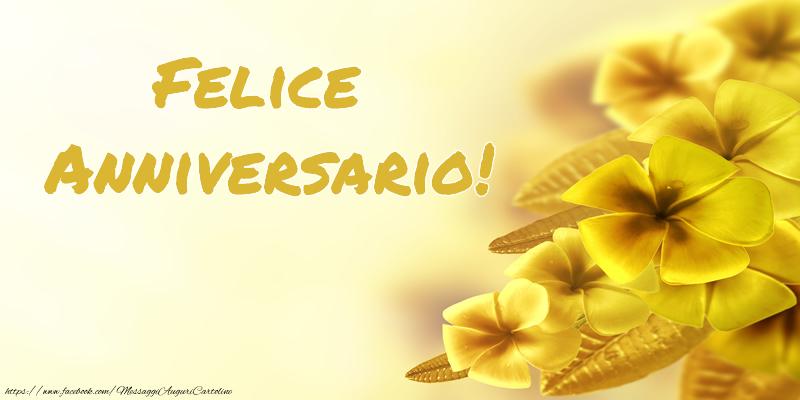 Eccezionale di matrimonio - Felice Anniversario! - messaggiauguricartoline.com YS71