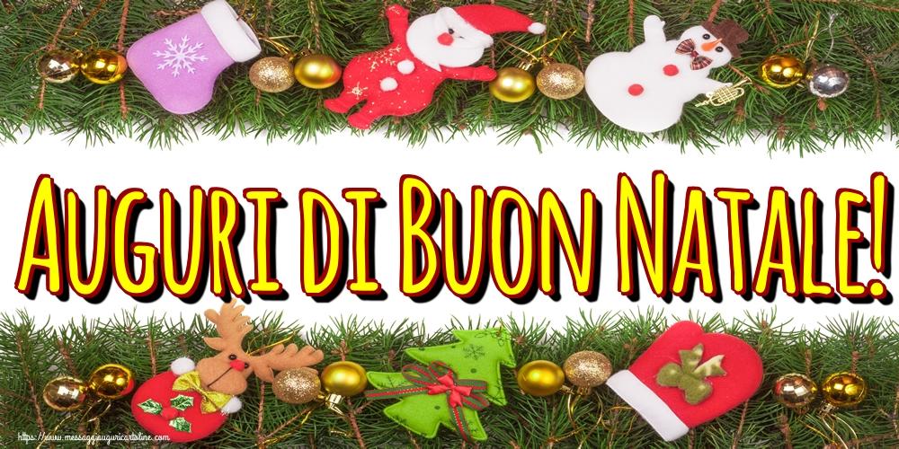 Cartoline di Natale - Auguri di Buon Natale!