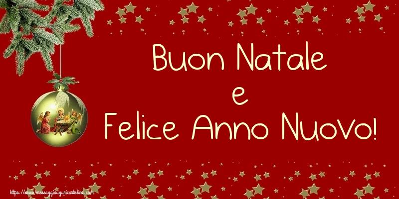 Cartoline Buon Natale E Felice Anno Nuovo.Cartoline Di Natale Buon Natale E Felice Anno Nuovo Messaggiauguricartoline Com