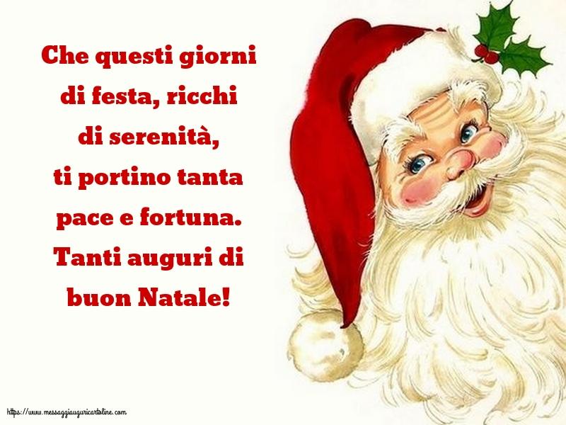Cartoline di Natale - Tanti auguri di buon Natale!