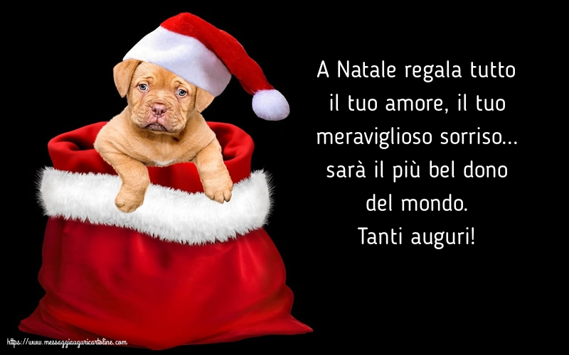 Cartoline di Natale - Tanti auguri!