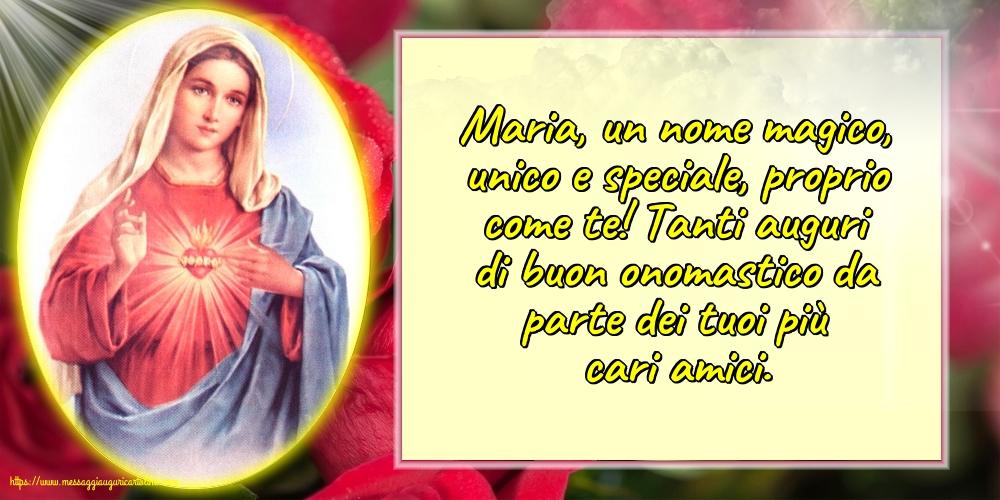 Cartoline per la Natività della Beata Vergine Maria - Maria, un nome magico