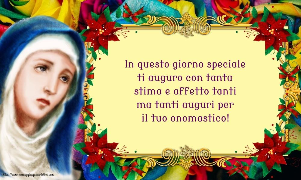 Il più popolari cartoline per la Natività della Beata Vergine Maria - In questo giorno speciale ti auguro con tanta stima e affetto