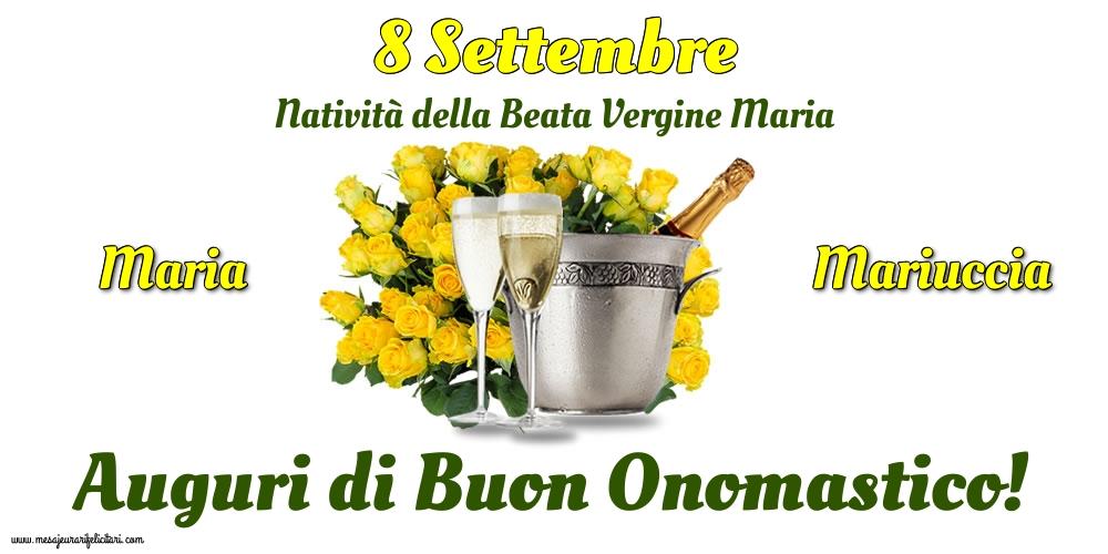 Cartoline per la Natività della Beata Vergine Maria - 8 Settembre - Natività della Beata Vergine Maria