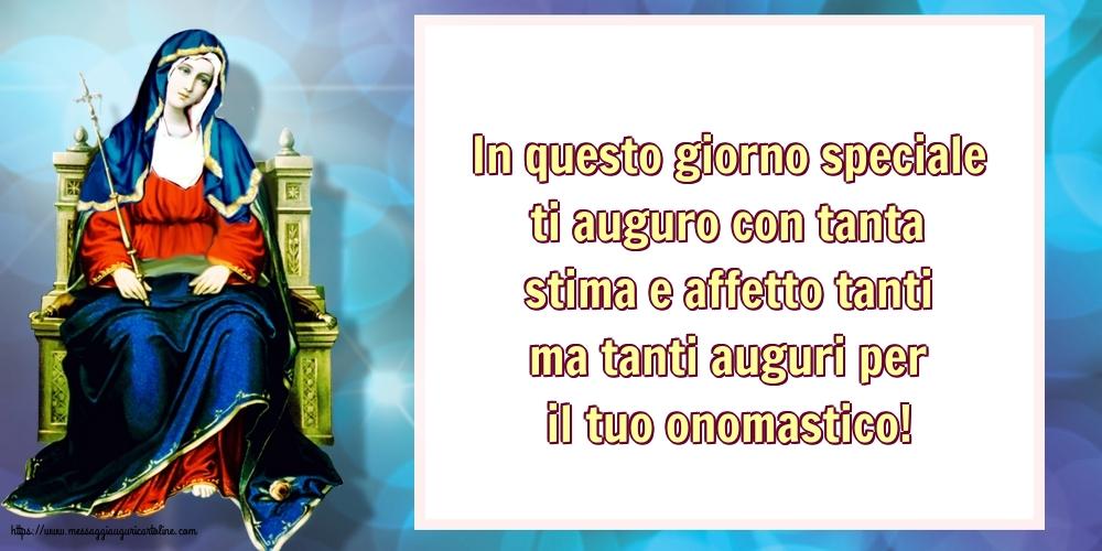 Cartoline per la Natività della Beata Vergine Maria - In questo giorno speciale ti auguro con tanta stima e affetto