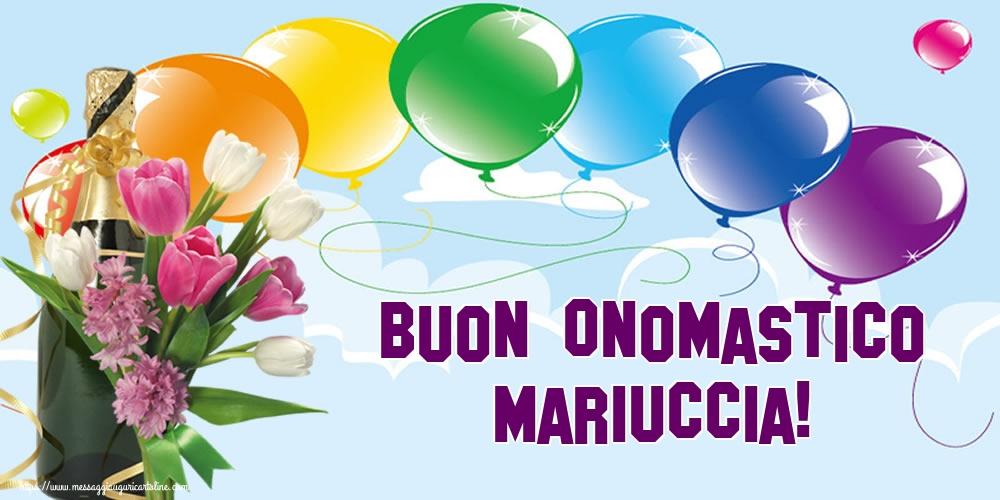 Cartoline per la Natività della Beata Vergine Maria - Buon Onomastico Mariuccia!