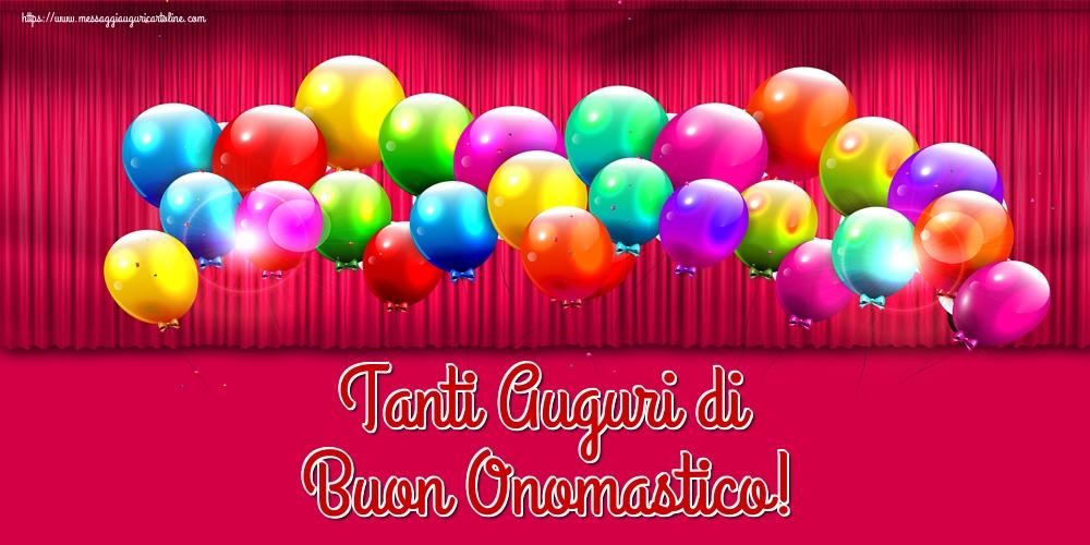 Cartoline di onomastico - Tanti Auguri di Buon Onomastico! - messaggiauguricartoline.com