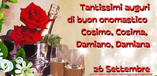Top di onomastico - Tantissimi auguri di buon onomastico Cosimo  ZO25