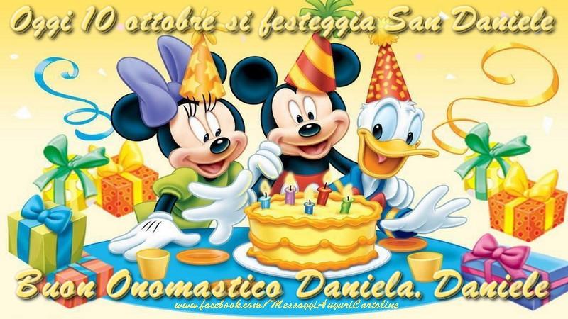 Onomastico Oggi 10 ottobre  si festeggia San Daniele  Buon Onomastico Daniela, Daniele