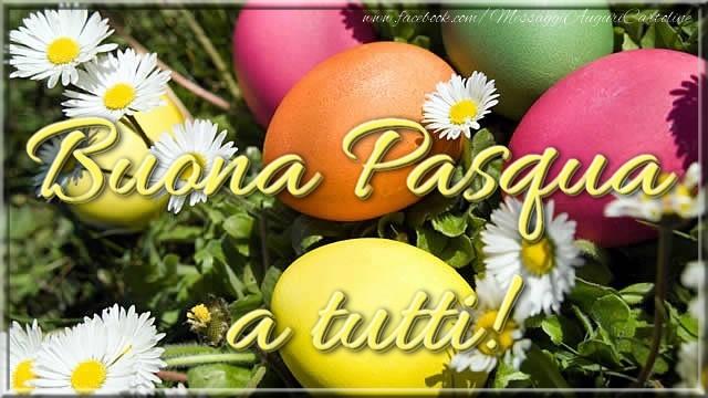 Cartoline di Pasqua - Buona Pasqua a tutti