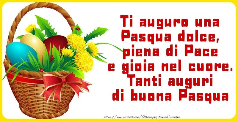 Cartoline di Pasqua - Tanti auguri di buona Pasqua
