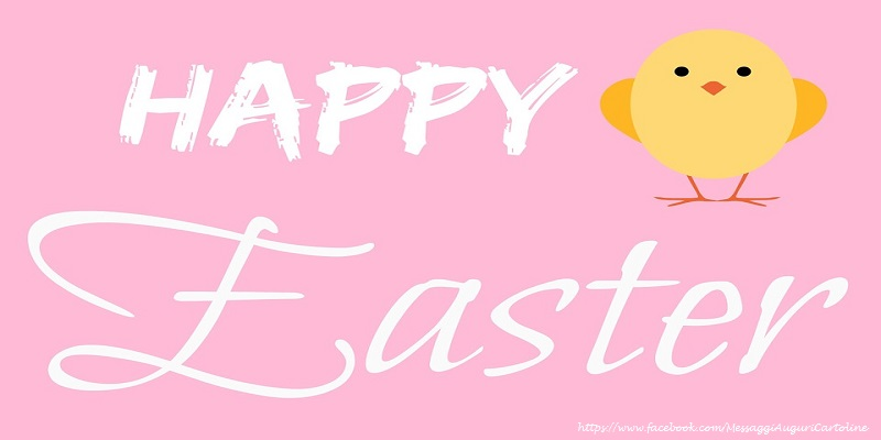 Cartoline di Pasqua - happy easter