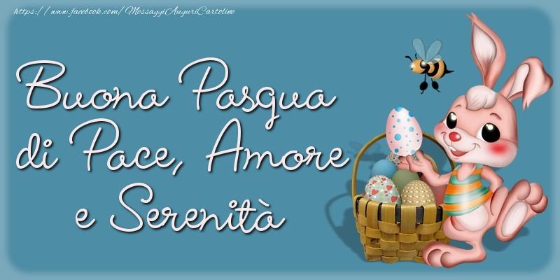 Pasqua Buona Pasqua di Pace, Amore e Serenità