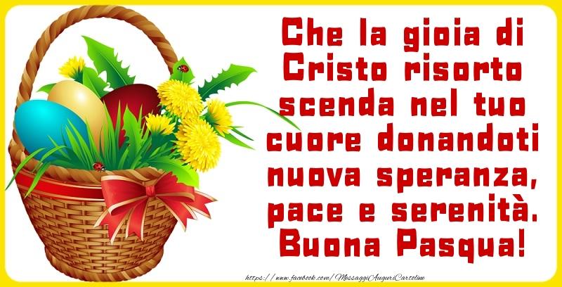 Pasqua Buona Pasqua!
