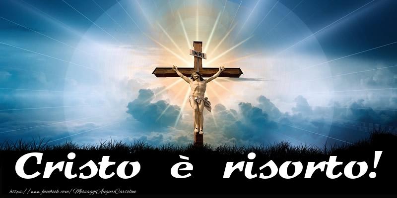 Cartoline di Pasqua - Cristo è risorto!