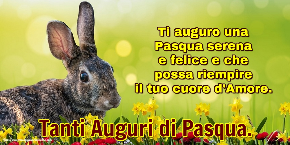 Cartoline di Pasqua - Tanti Auguri di Pasqua.