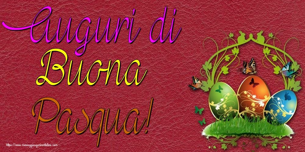 Cartoline di Pasqua - Auguri di Buona Pasqua! - messaggiauguricartoline.com