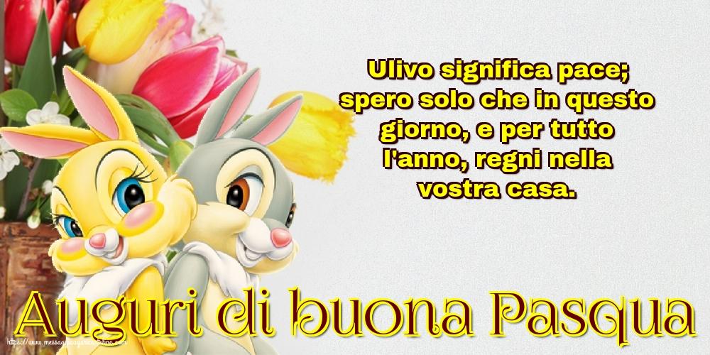Cartoline di Pasqua - Auguri di buona Pasqua