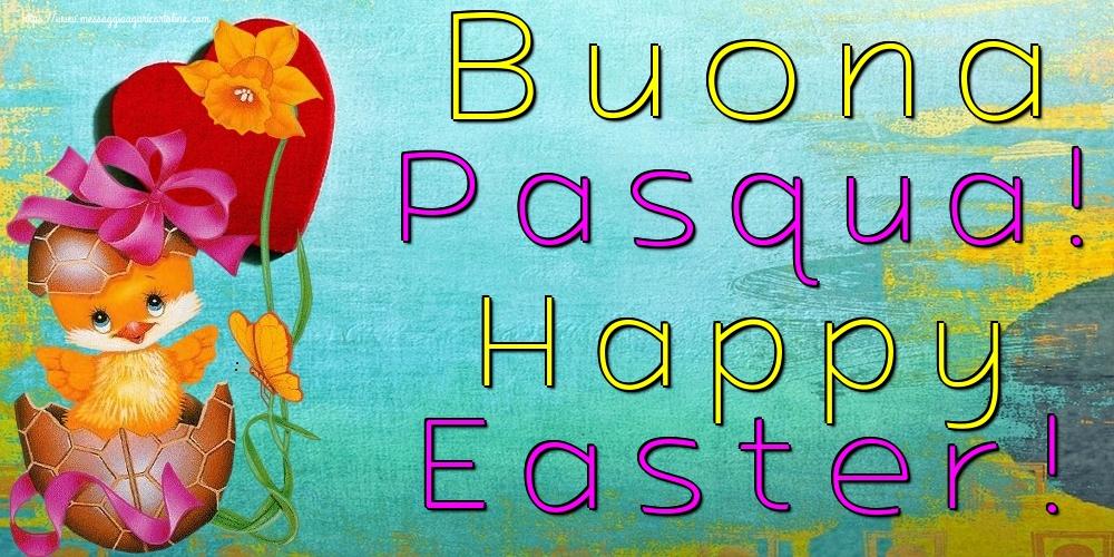 Cartoline di Pasqua - Buona Pasqua! Happy Easter!