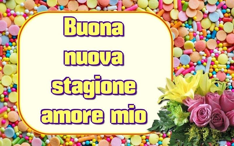 Cartoline di primavera - Buona nuova stagione amore mio