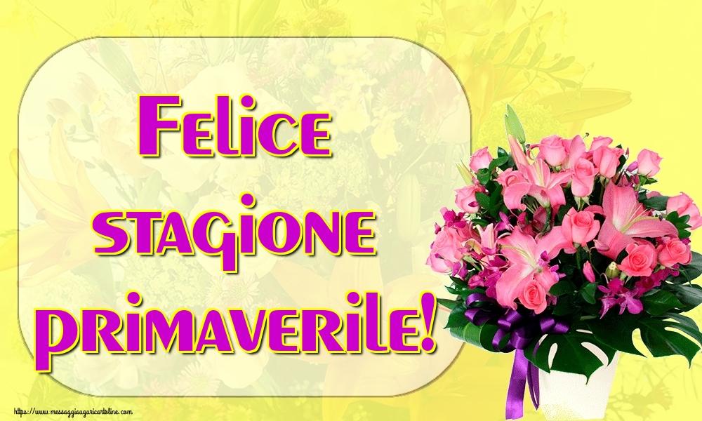 Cartoline di primavera - Felice stagione primaverile!