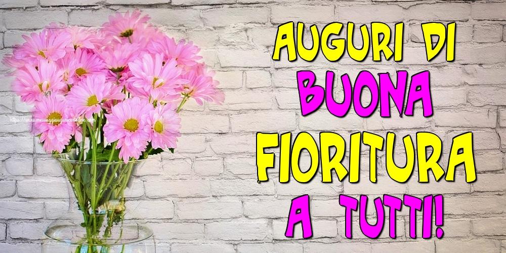 Cartoline di primavera - Auguri di buona fioritura a tutti!