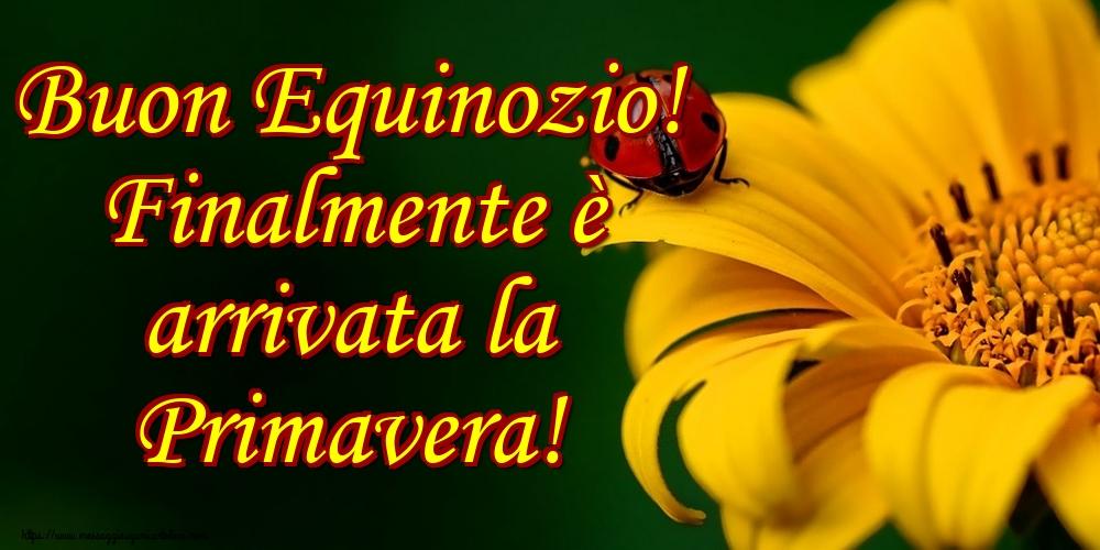 Cartoline di primavera - Buon Equinozio! Finalmente è arrivata la Primavera!