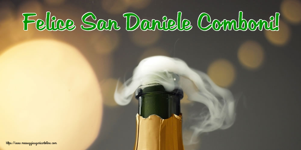 Cartoline per la San Daniele Comboni - Felice San Daniele Comboni!