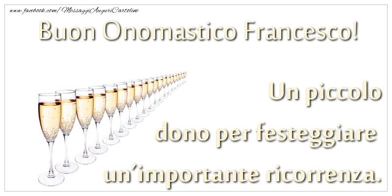 Cartoline di San Francesco - Un piccolo dono per festeggiare un'importante ricorrenza. Buon onomastico Francesco!