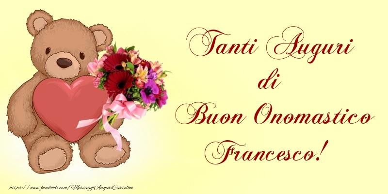 Cartoline di San Francesco - Tanti Auguri di Buon Onomastico Francesco!