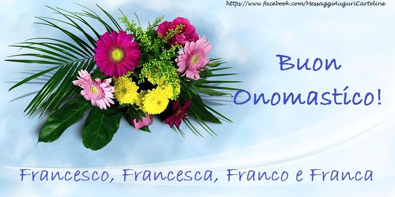 Cartoline di San Francesco - Buon Onomastico