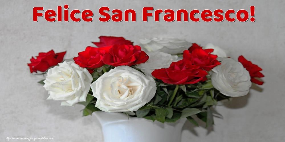 Cartoline di San Francesco - Felice San Francesco!